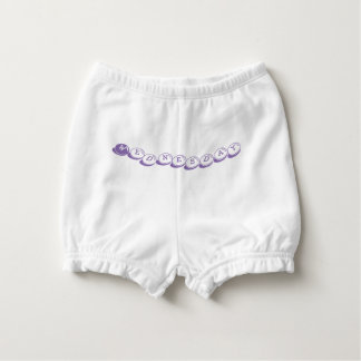 Days of the Week: Tuesday Diaper Bloomers Diaper Cover