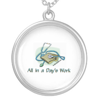 Days Work 1 Silver Plated Necklace