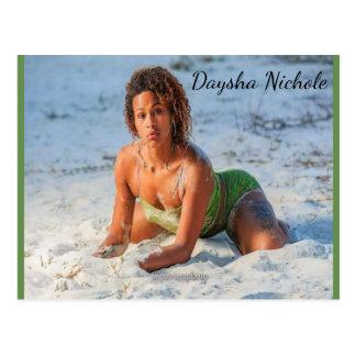 Daysha Nichole McGinnis, beach, Postcard
