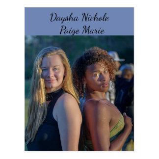 Daysha Nichole & Paige Marie, postcard