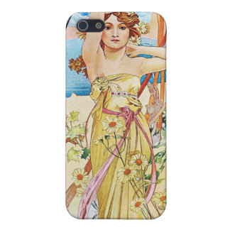 Daytime, Alphonse Mucha iPhone 5 Cover