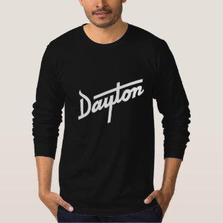 Dayton long sleeve black American Apparel t-shirt