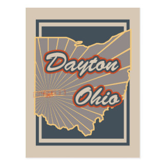 Dayton, Ohio Postcard - Travel Postcard v2