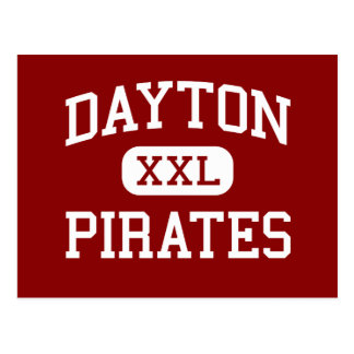 Dayton - Pirates - Middle School - Dayton Oregon Postcard