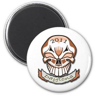 Daytona 2011Skull Magnet