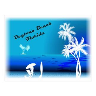 Daytona Beach Blue Postcard