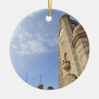 Daytona Beach Boardwalk Clock Tower Ornament