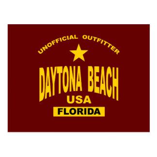 Daytona Beach Card Postcard