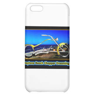 Daytona Beach Chopper Dreaming Yellow Gold Black T Cover For iPhone 5C