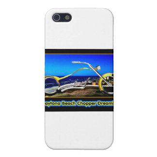 Daytona Beach Chopper Dreaming Yellow Gold Black T Case For iPhone 5
