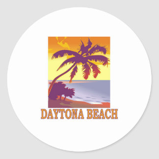 Daytona Beach Classic Round Sticker