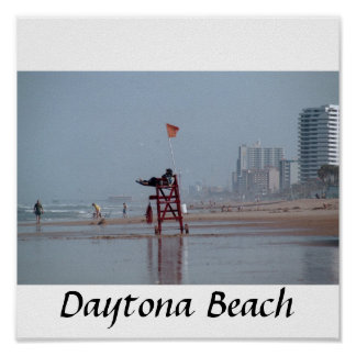 Daytona beach, Daytona Beach Poster