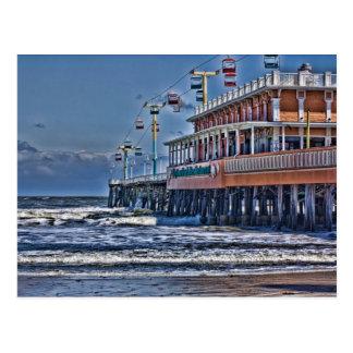 Daytona Beach FL Pier Postcard