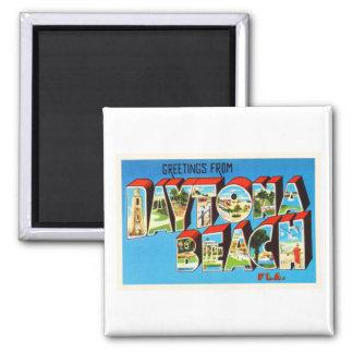 Daytona Beach Florida FL Vintage Travel Souvenir Magnet