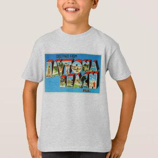 Daytona Beach Florida FL Vintage Travel Souvenir T-Shirt