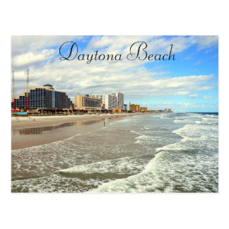 Daytona Beach Florida Photograph Postcard Keepsake