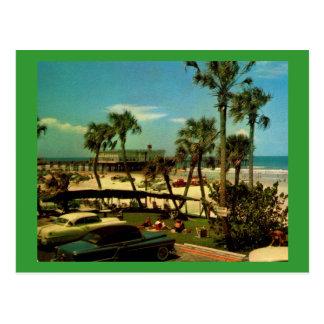 Daytona Beach, Florida Vintage Postcard