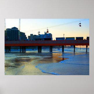 Daytona Beach Oceanfront II Poster