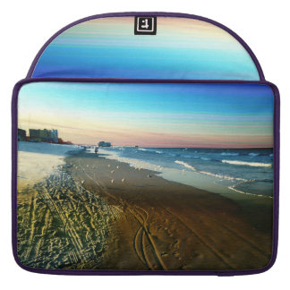 Daytona Beach Shoreline and Boardwalk Sleeve For MacBooks