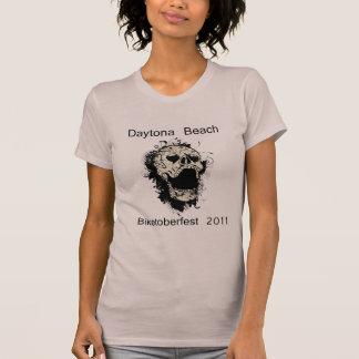 Daytona Beach Skull Biketoberfest 2011 T-Shirt