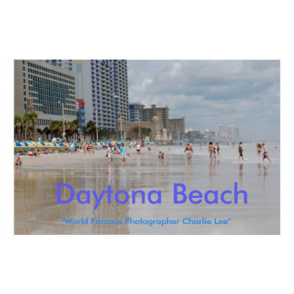"Daytona Beach, ""World Famou... Poster"