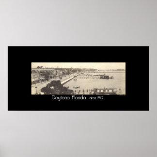 Daytona Florida circa 1910 Poster