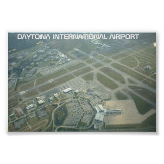 Daytona International Airport Poster