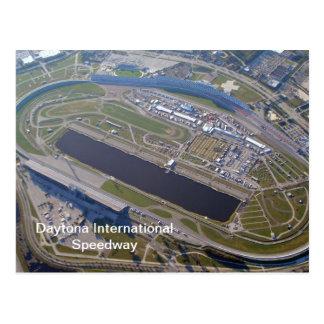 Daytona International Speedway Aerial View Postcard