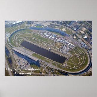 Daytona international speedway poster