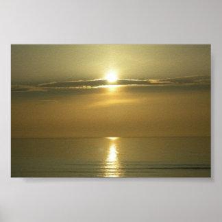 Daytona Sunrise Poster