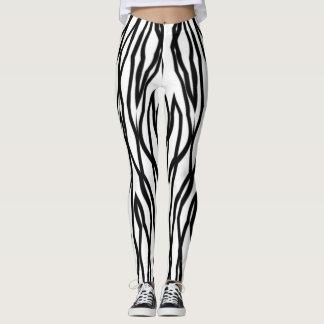 Dazed Zebra Leggings