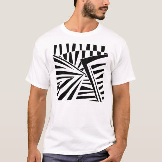 dazzle camouflage (black) T-Shirt