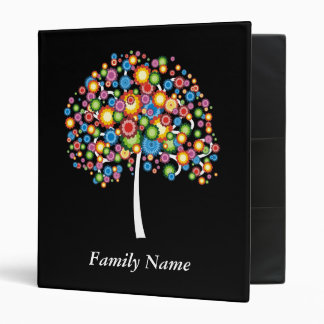 Dazzle Family Tree - Customize Vinyl Binder