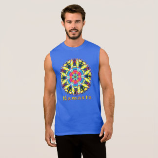 Dazzle Namaste Kaleidoscope Sleeveless Shirt