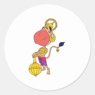 Dazzle on Zazzel Classic Round Sticker