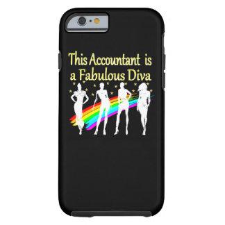 DAZZLING ACCOUNTANT DIVA DESIGN TOUGH iPhone 6 CASE