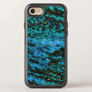 Dazzling blue and green wave design. OtterBox symmetry iPhone 8/7 case