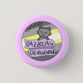 Dazzling Demigender 1 Inch Round Button