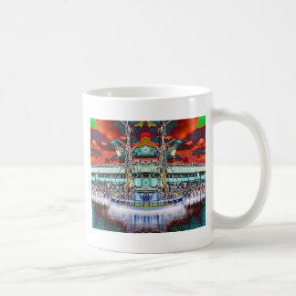 Dazzling Docks Classic White Coffee Mug
