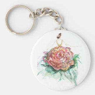 Dazzling Flowercouture keychain