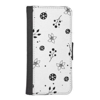 Dazzling Happy Unique Manly iPhone SE/5/5s Wallet Case