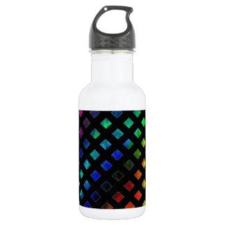 Dazzling Multi Colored Diamonds 532 Ml Water Bottle