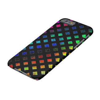 Dazzling Multi Colored Diamonds Barely There iPhone 6 Case