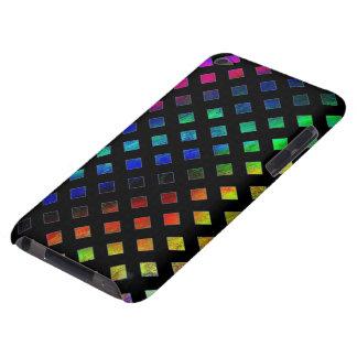 Dazzling Multi Colored Diamonds Barely There iPod Case