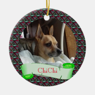 Dazzling Pet Christmas Ornament
