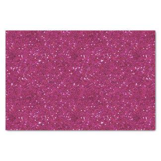 Dazzling Sparkly Chic Hot Pink Glitter Tissue Paper