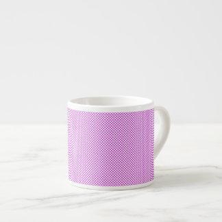 Dazzling Violet Polka Dots Espresso Cup