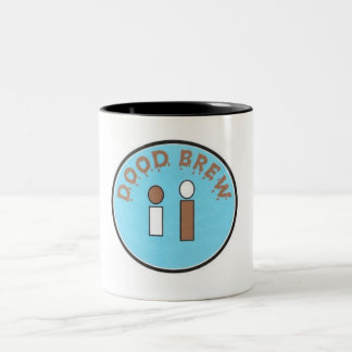 DB07 - Two Tone Mug # 01 - Creepy Logo