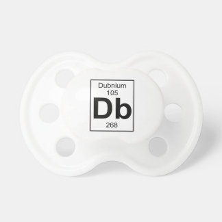 Db - Dubnium Baby Pacifiers