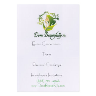 """DB presents """"How WE DO Travel"""" Profile Cards Large Business Cards (Pack Of 100)"""
